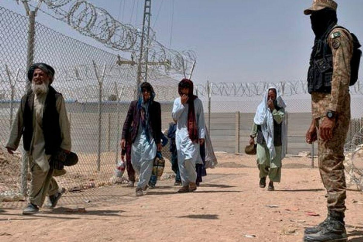 Where do Afghanistan's refugees go once they're out of the country?