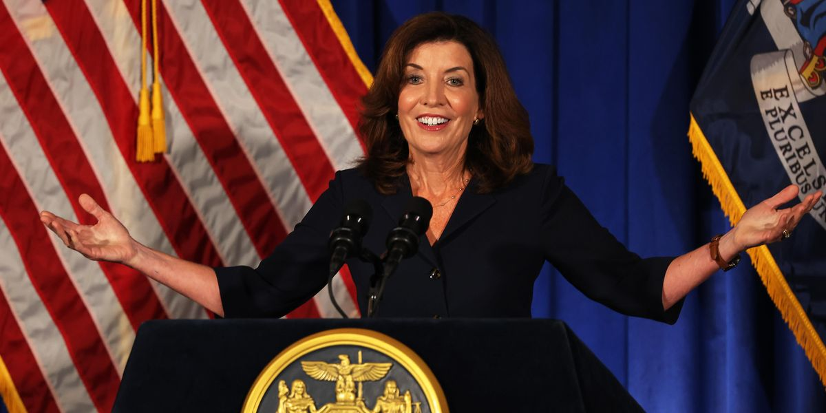 Kathy Hochul Becomes First Female Governor of New York