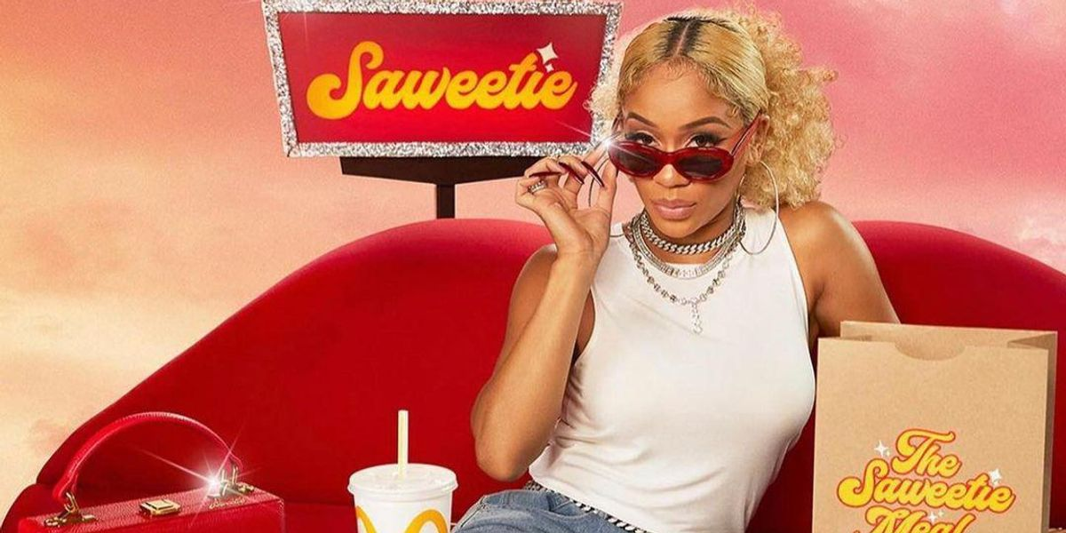 Saweetie and Brandon Blackwood on Serving the Hottest McDonald's Collab Ever