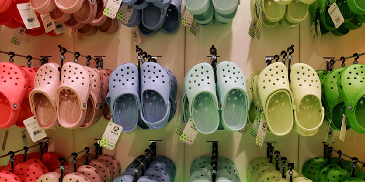You Can Now Get Your Dog a Pair of Mini Crocs and We Can't Handle the Cuteness