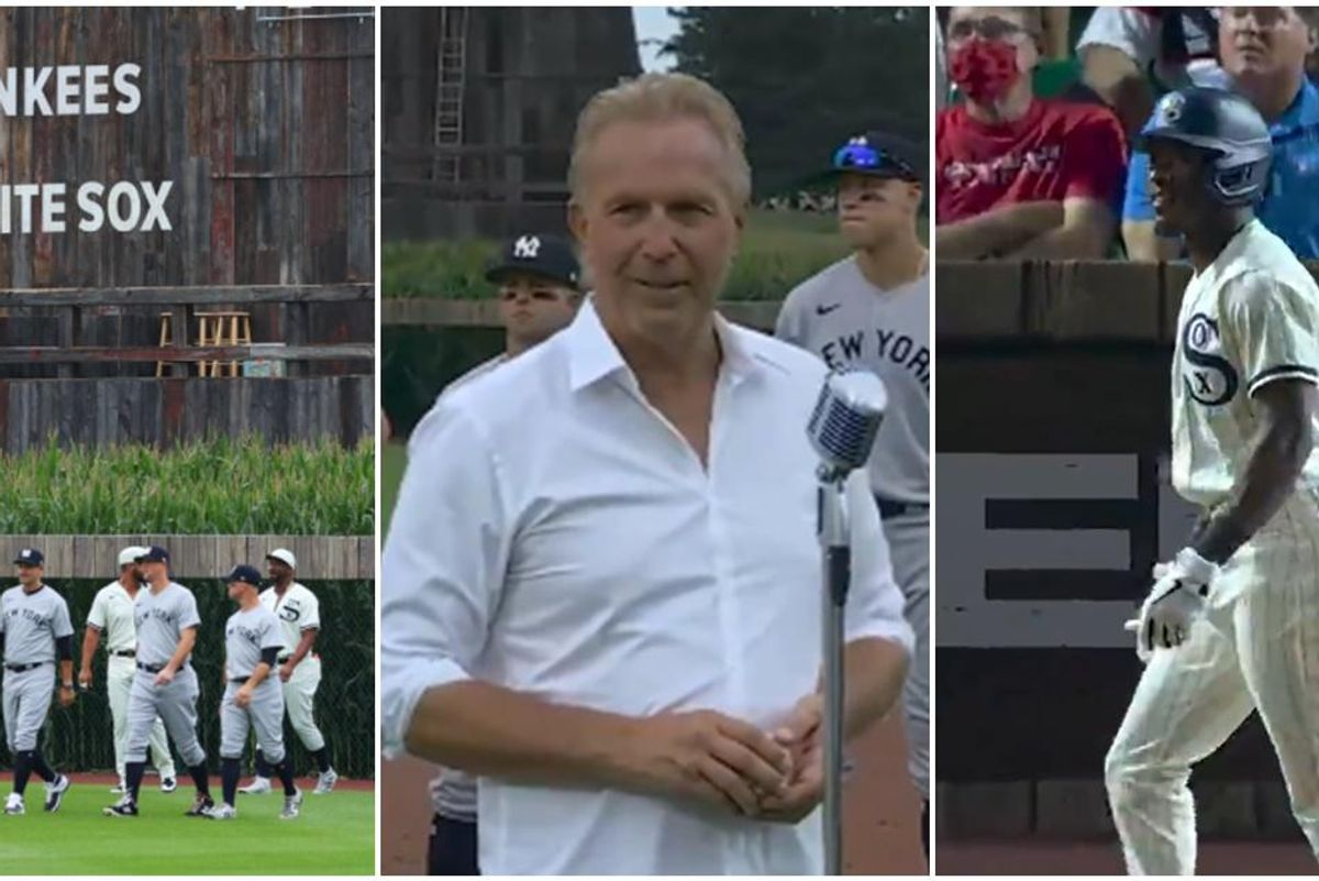 Major League Baseball recreated the 'Field of Dreams' for a game and it was purely magical