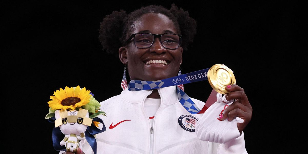 Mother of Olympic Gold Medalist Tamyra Mensah-Stock Receives $250,000 Food Truck After Tokyo Games