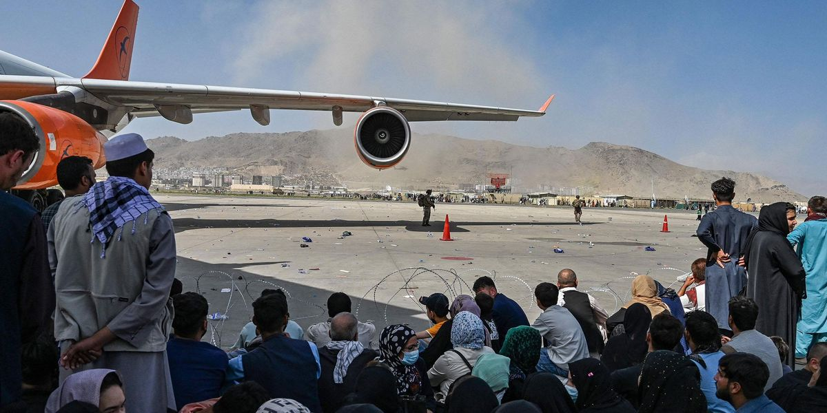 Three Stowaways Reportedly Fall to Their Deaths From Plane as They Try To Flee Afghanistan