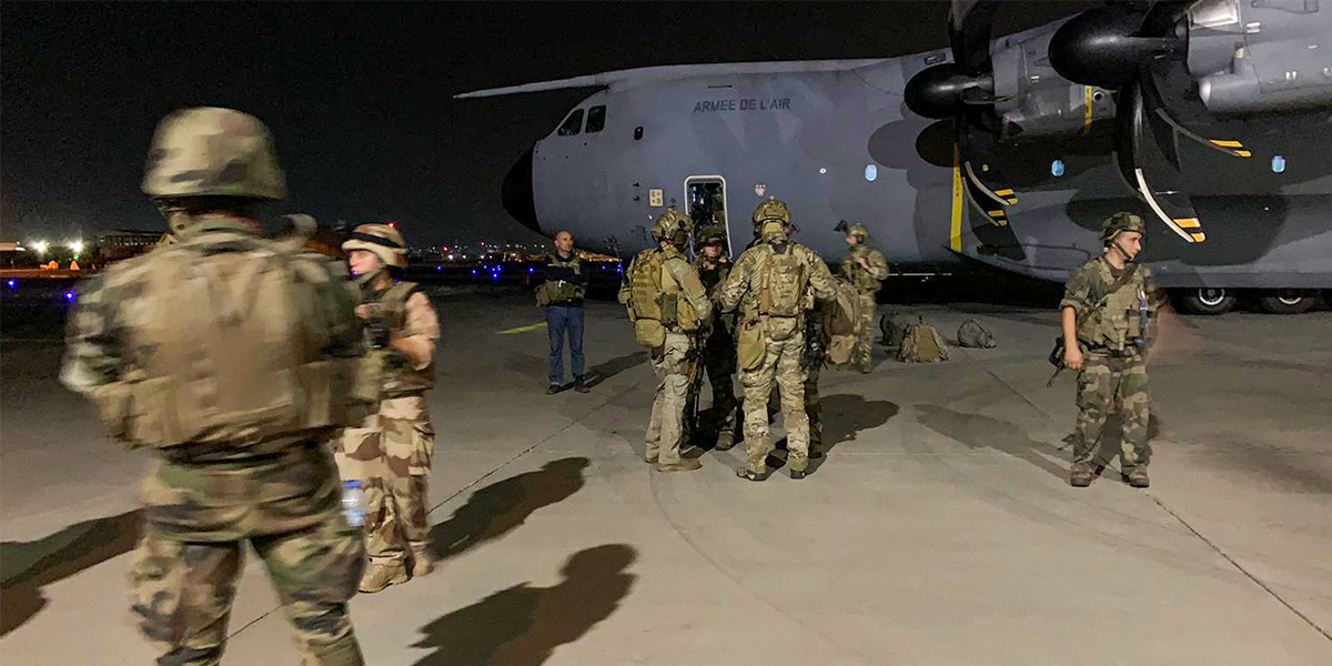 Shocking Photos Show 640 Afghans Crammed into US Military Plane to Flee Taliban
