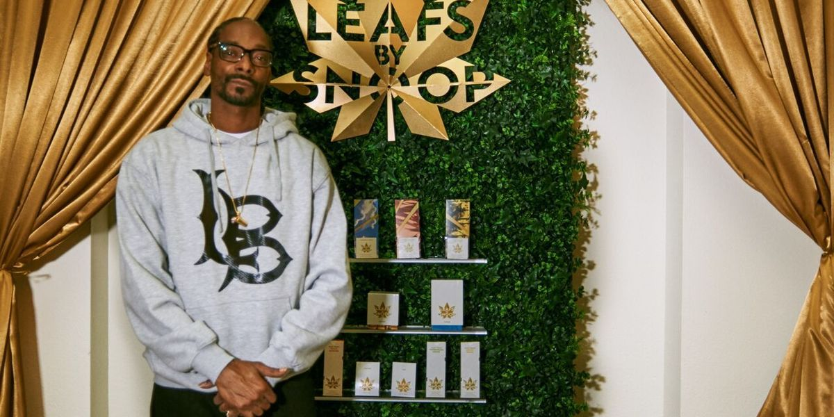Snoop Dogg Now Has His Own Weed Line