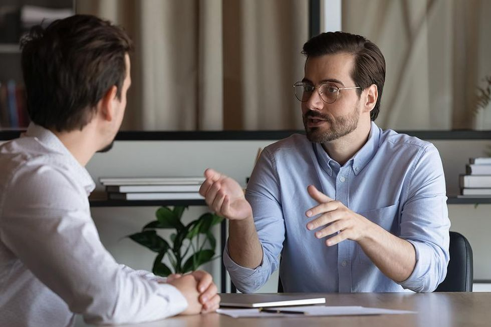"""Man answers the interview question, """"Why should we hire you?"""""""