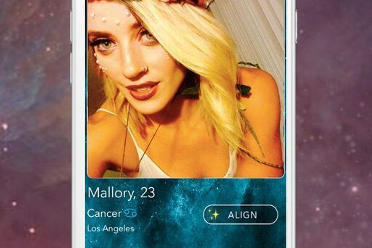 Peep The New Dating App 'Align,' The Tinder of Astrology