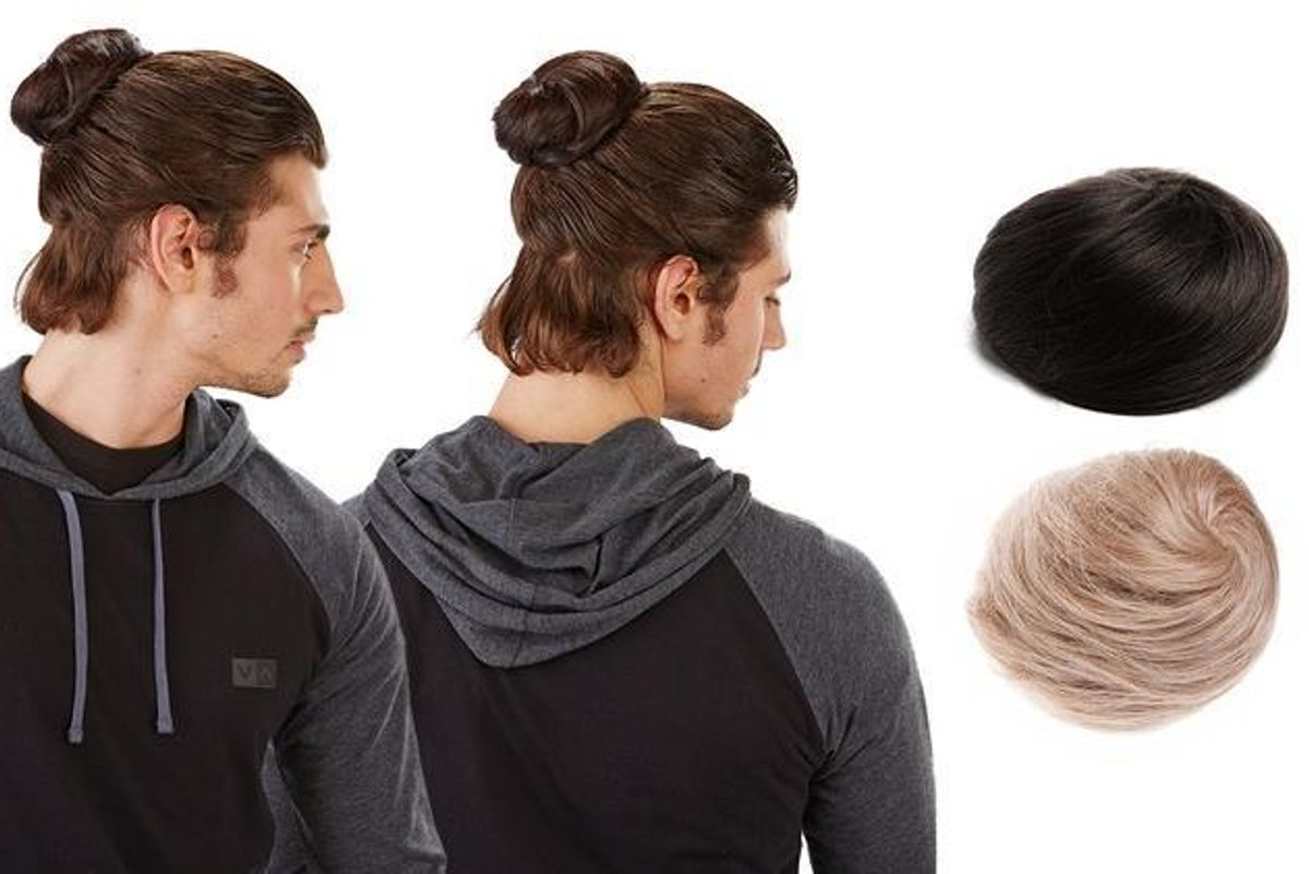 Clip-In Man Buns Are Now A Thing