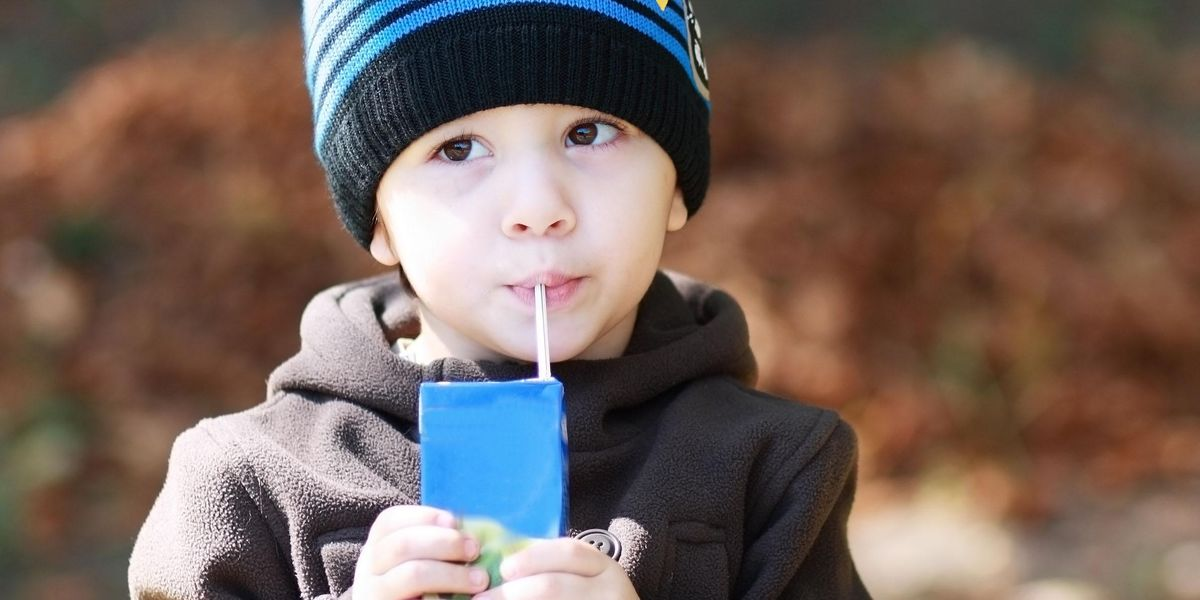 Parents Won't Stop Raving About This Squeeze-Proof Juice Box Holder