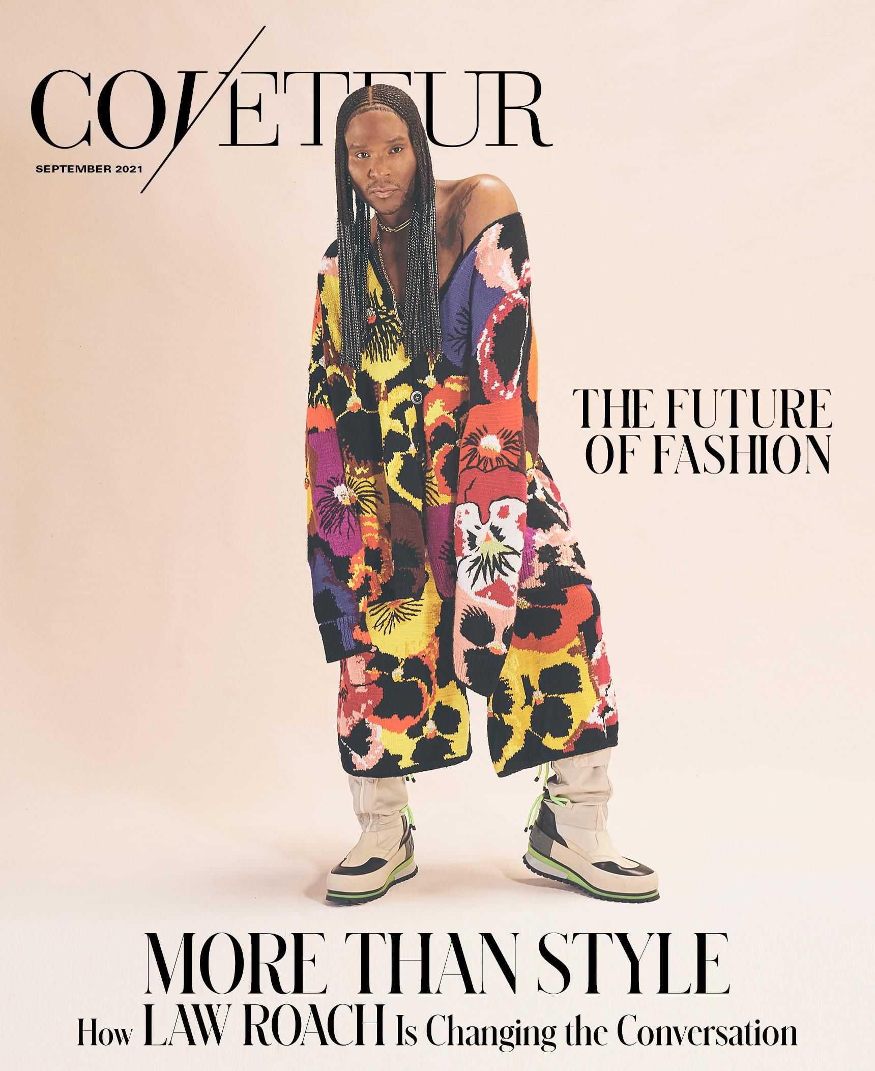 Read our cover story on iconic stylist Law Roach