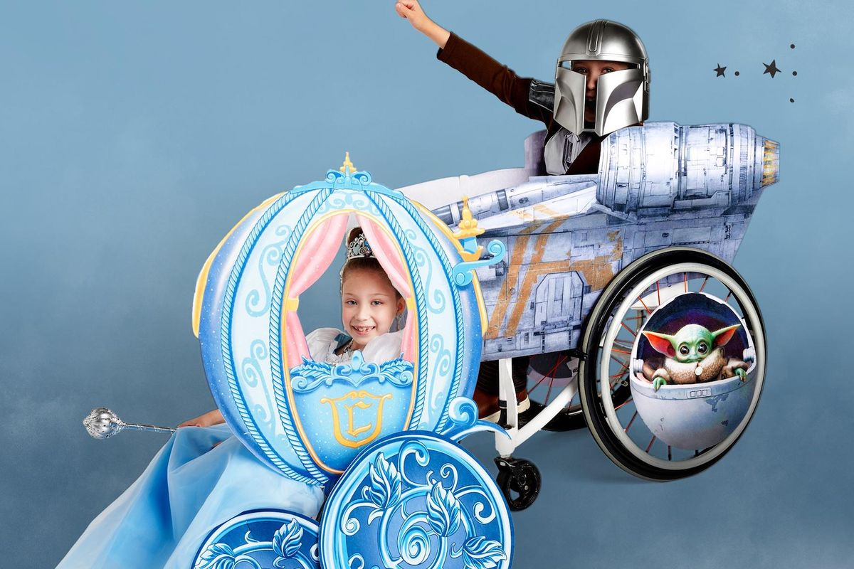 Children with special needs now have more options for Halloween costumes, and it's magnificent!