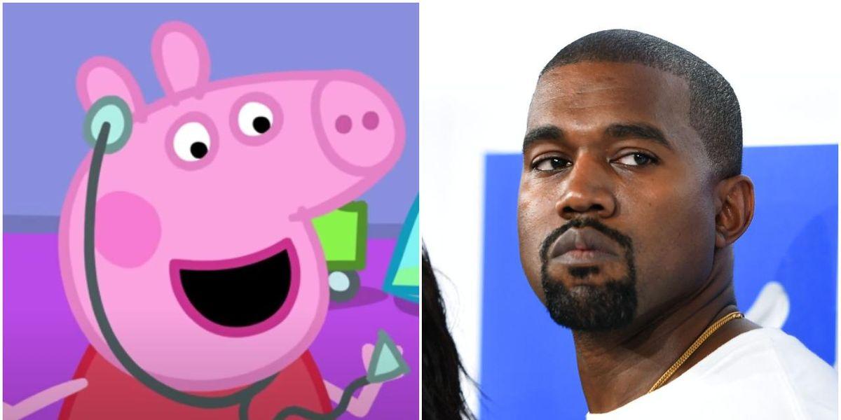 Peppa Pig Trolls Kanye After 'Donda' Gets a Lower Album Score