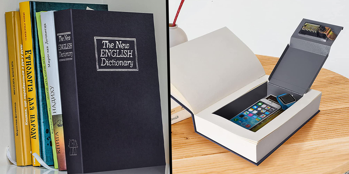 This Boring Book That No One Would Ever Want To Read Is Actually a Safe