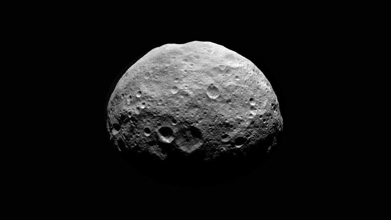 Cracking a mystery about Vesta, our solar system's second largest asteroid
