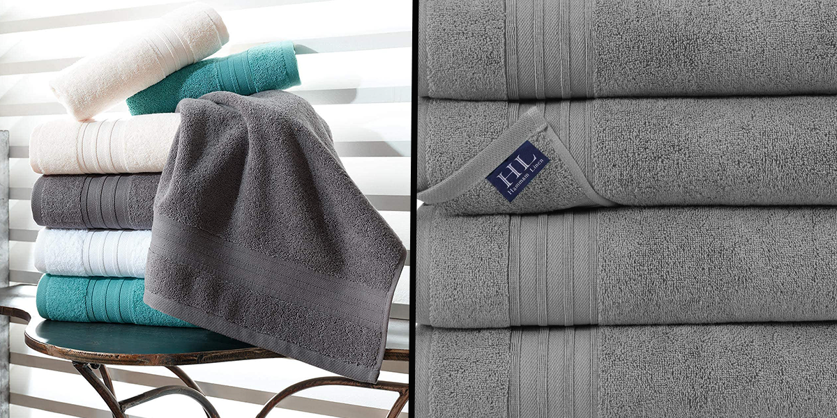 If You're Looking for 'Hotel Quality' at Home Then These Turkish Cotton Bath Towels Give Just That