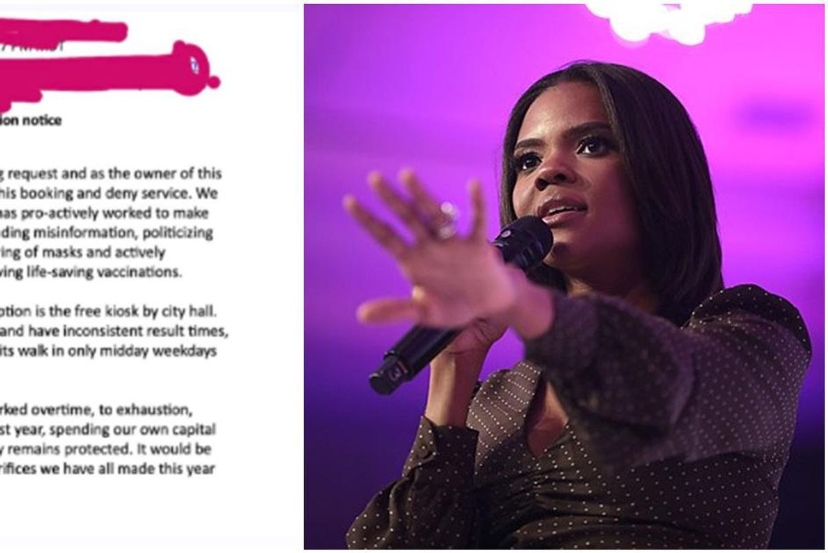 Anti-vaxxer Candace Owens was denied a COVID test, highlighting a big debate in medical ethics