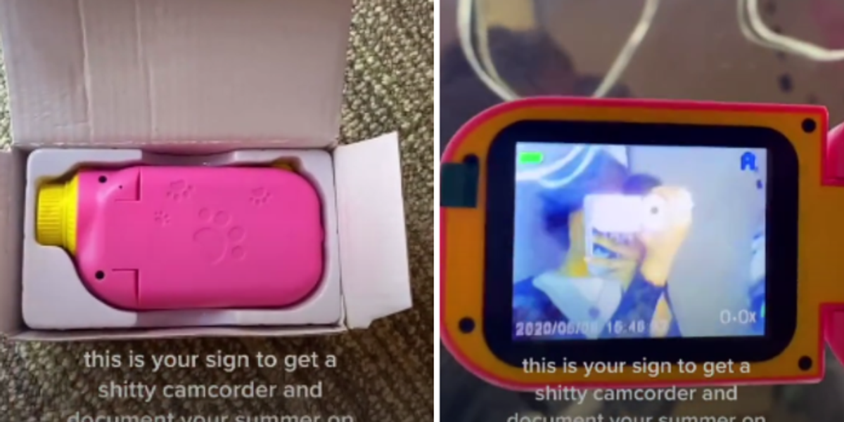 This '90s-Inspired Camcorder Is Going Viral on TikTok