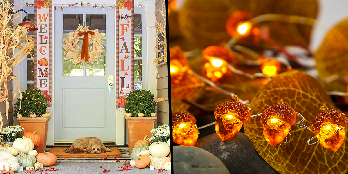 37 Fall Home Decor Items We're In Love With