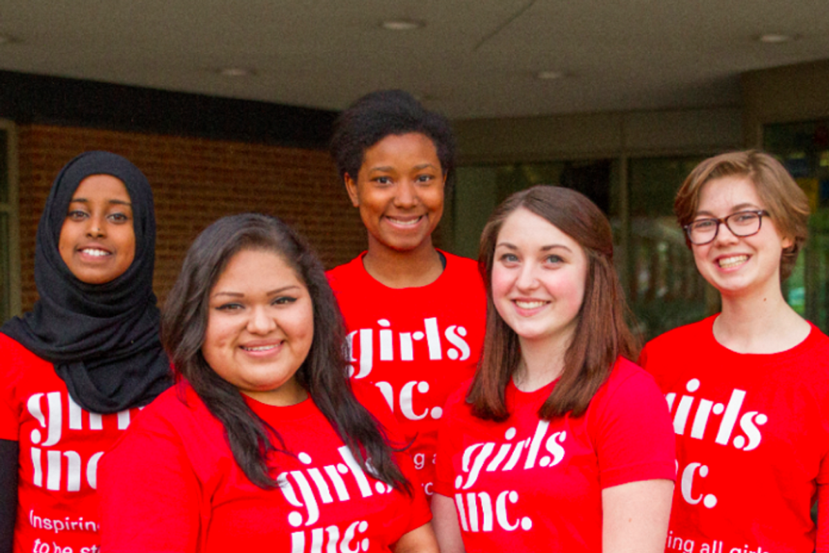 Macy's and Girls Inc. are inspiring girls from all backgrounds to take the lead and change the world.