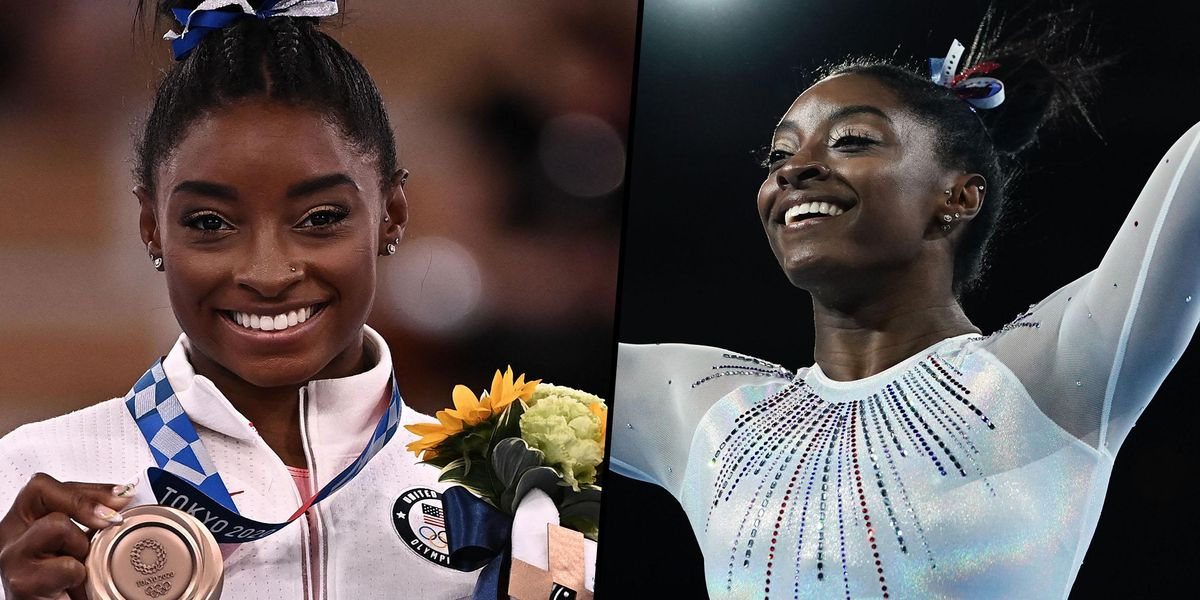 Simone Biles Claps Back at Haters Who Call Her a 'Quitter' After Tokyo Olympics