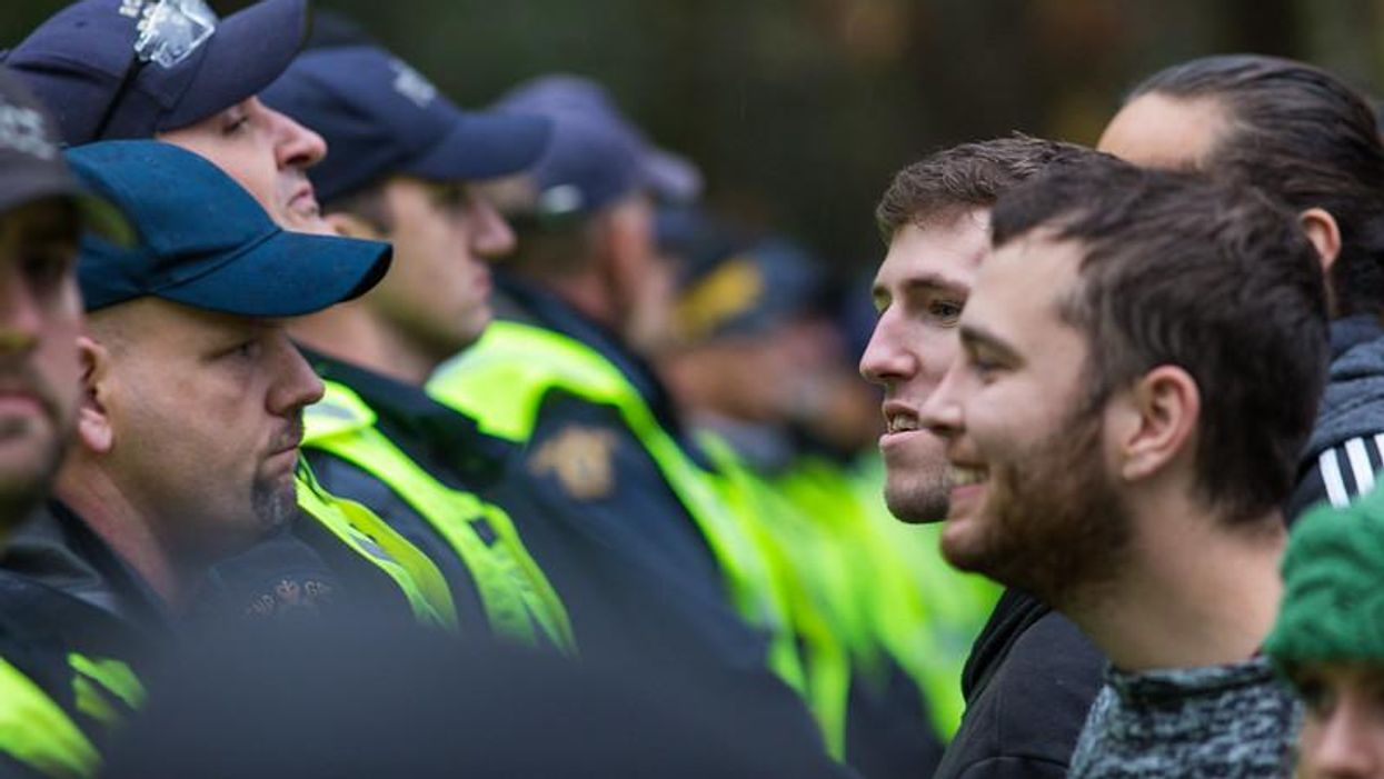 Police treatment of Indigenous protesters differs starkly from white protesters, experts say