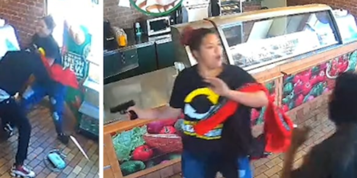 Subway Worker Suspended after Defending Herself from Armed Robber