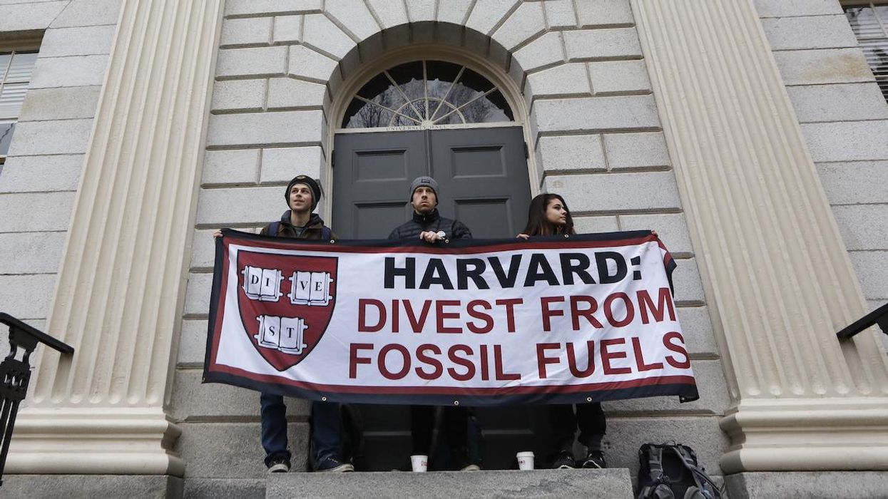 'A Large Domino to Fall' — Harvard to End Fossil Fuels Investments