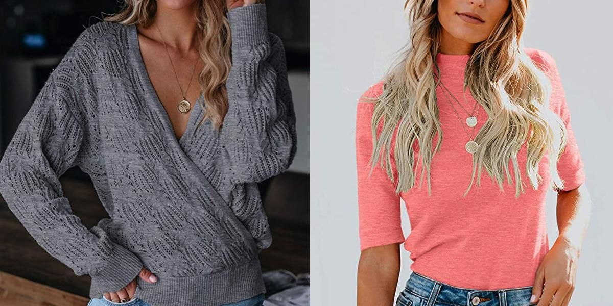 37 Amazon Clothing Options Perfect for Layering