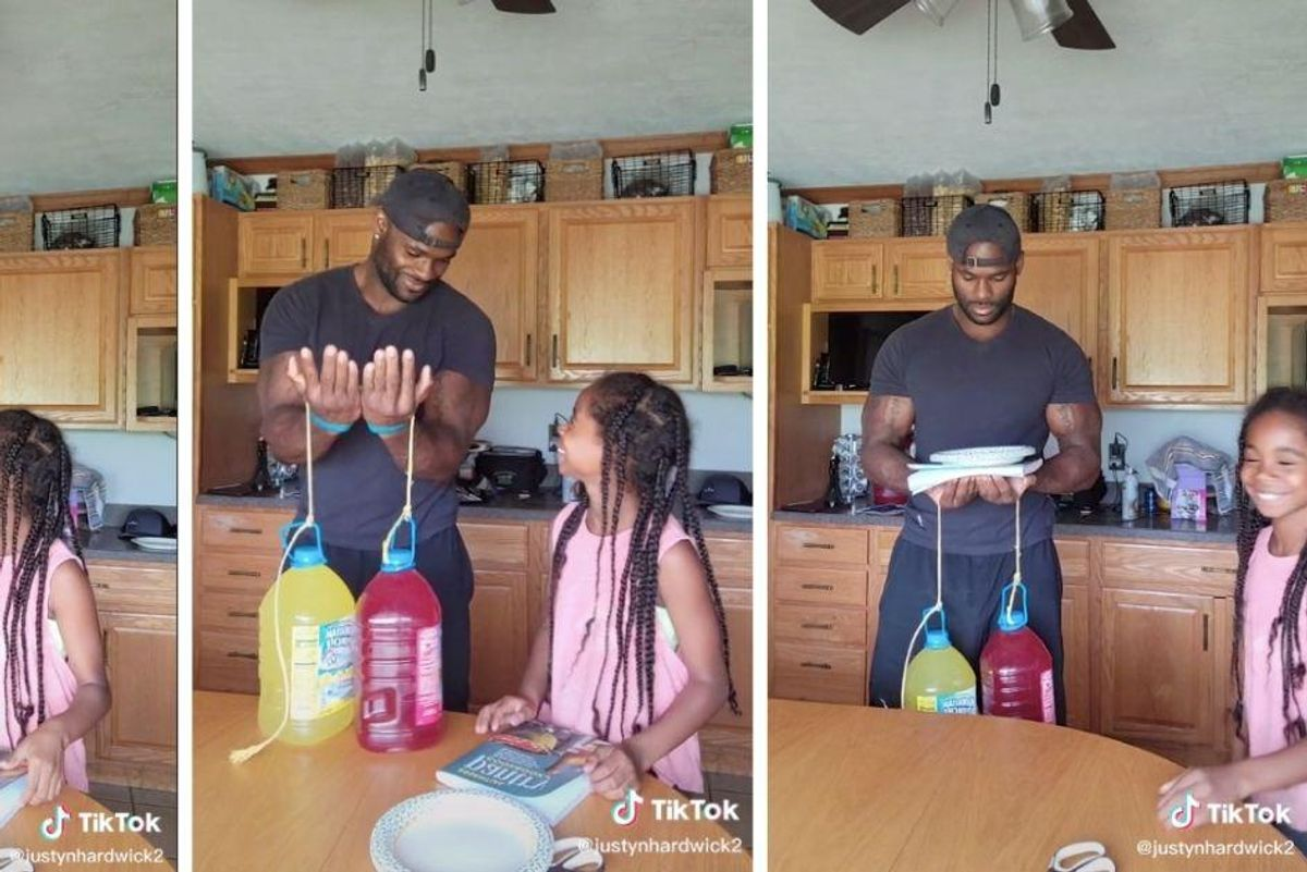 This dad suspected his daughter was pranking him and yet she still managed to pull it off