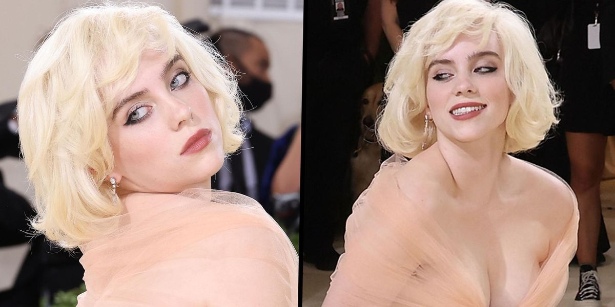 Billie Eilish Said 'It Was Time for This' After Stunning in Marilyn Monroe-Inspired Ballgown at Met Gala