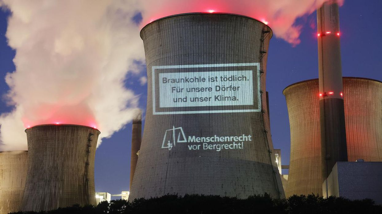 A coal plant in Germany.
