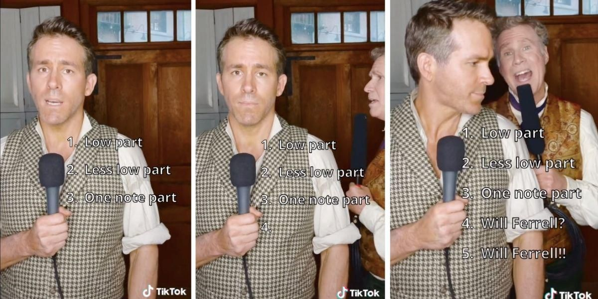 Ryan Reynolds does the 'Grace Kelly challenge' and wows with his voice and surprise guest