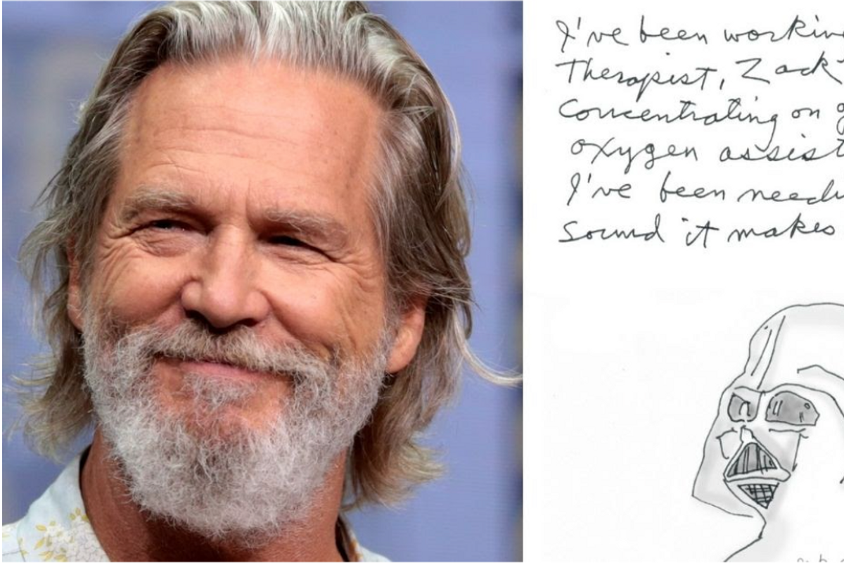 Jeff Bridges shared a poignant note about his recovery from cancer and COVID