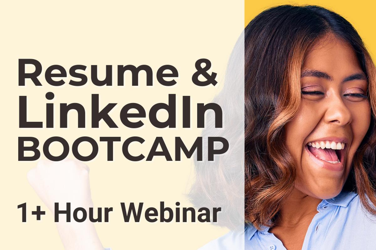 Work It Daily's free Resume & LinkedIn Bootcamp