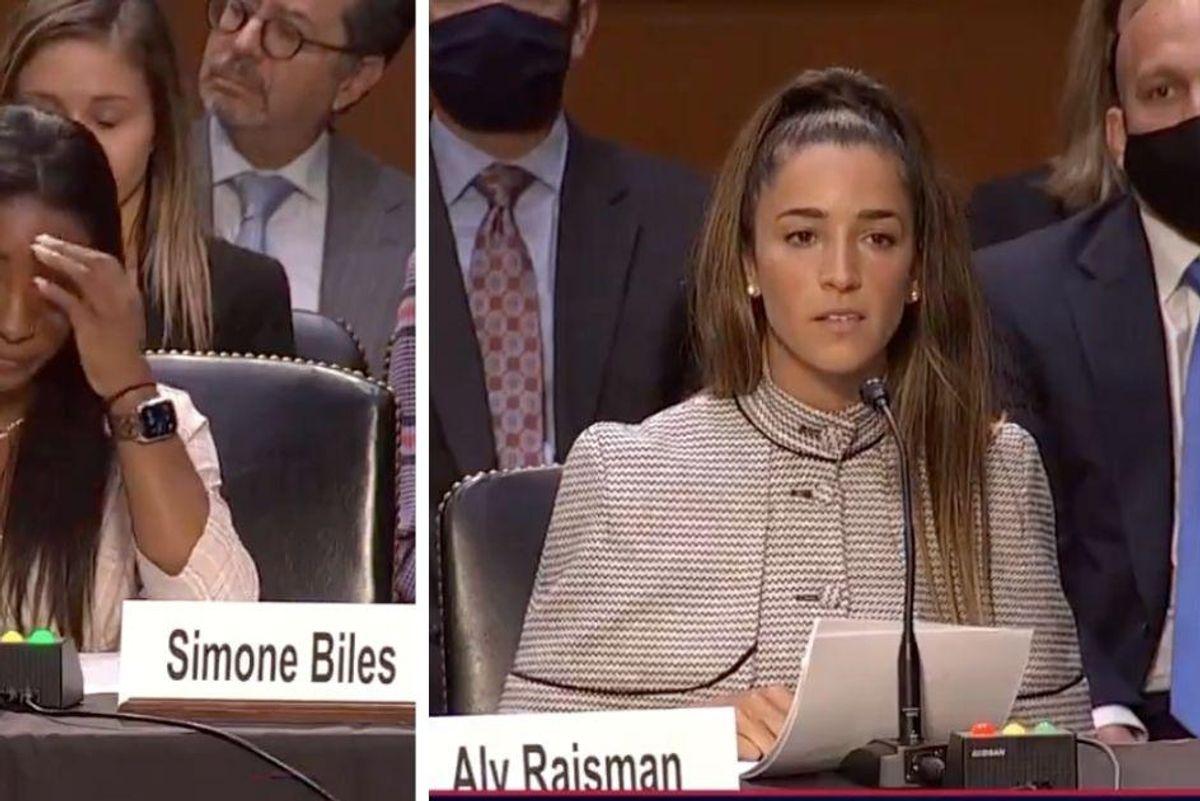 In emotional testimony, U.S. gymnasts lambaste investigators of Larry Nassar's sexual abuse