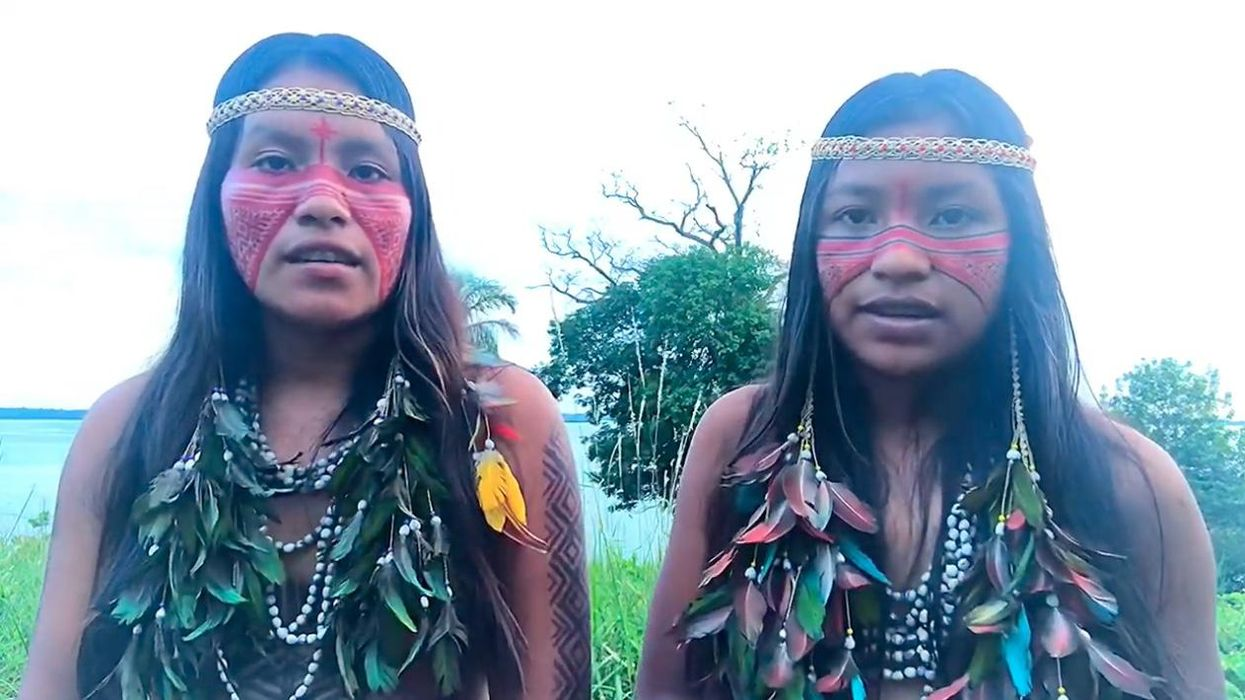 Cunhaporanga Tatuyo became a TikTok star by sharing glimpses of her life in a remote indigenous community in the Amazon.