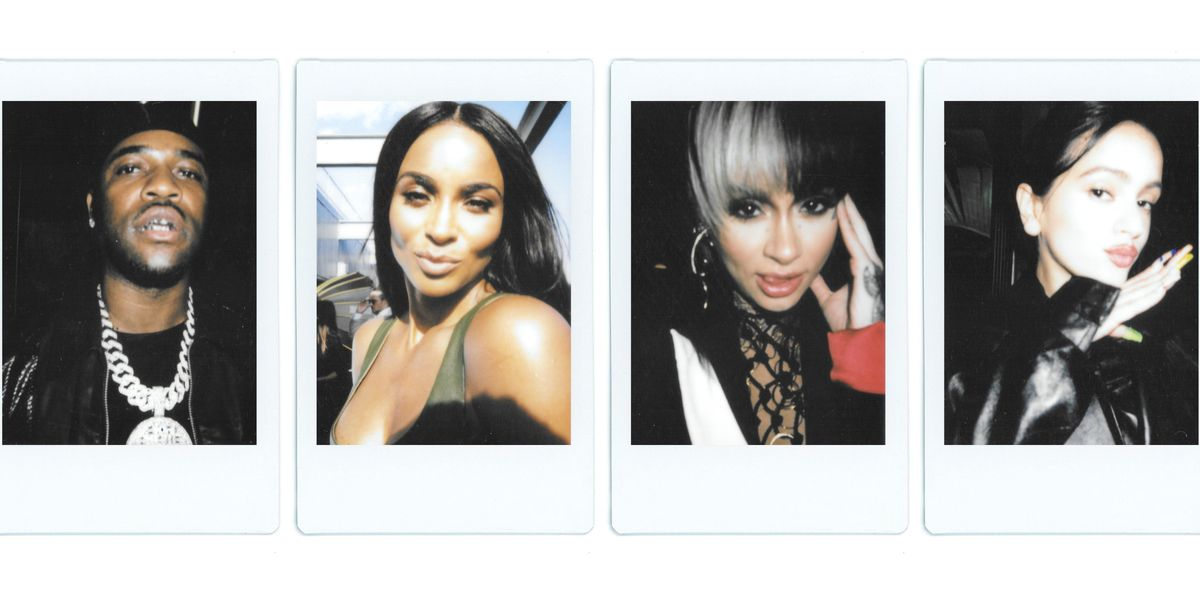 Polaroids of All Your Favorite Faces at NYFW