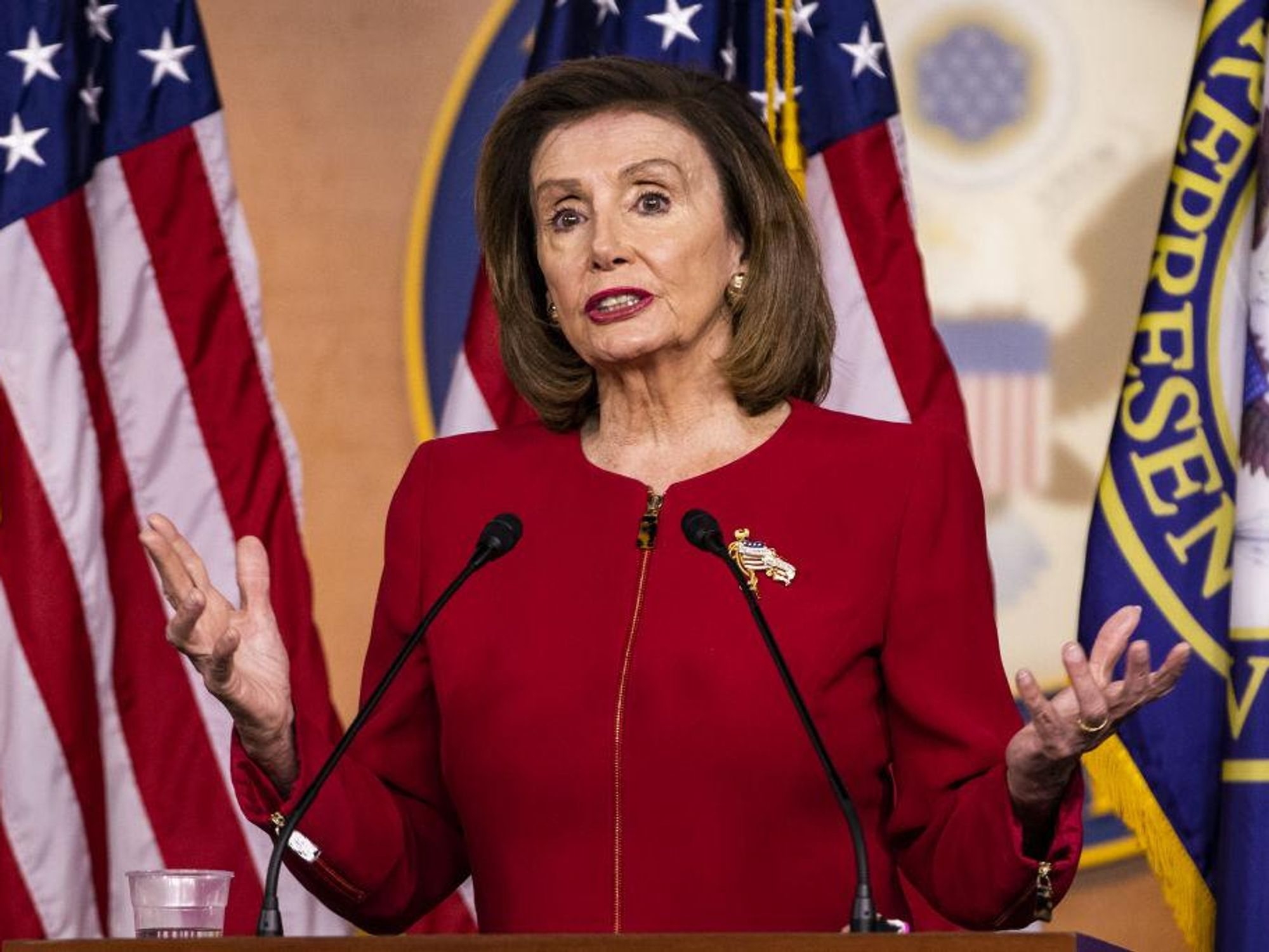 House Speaker Nancy Pelosi says that President Joe Biden 'knows his foreign policy'