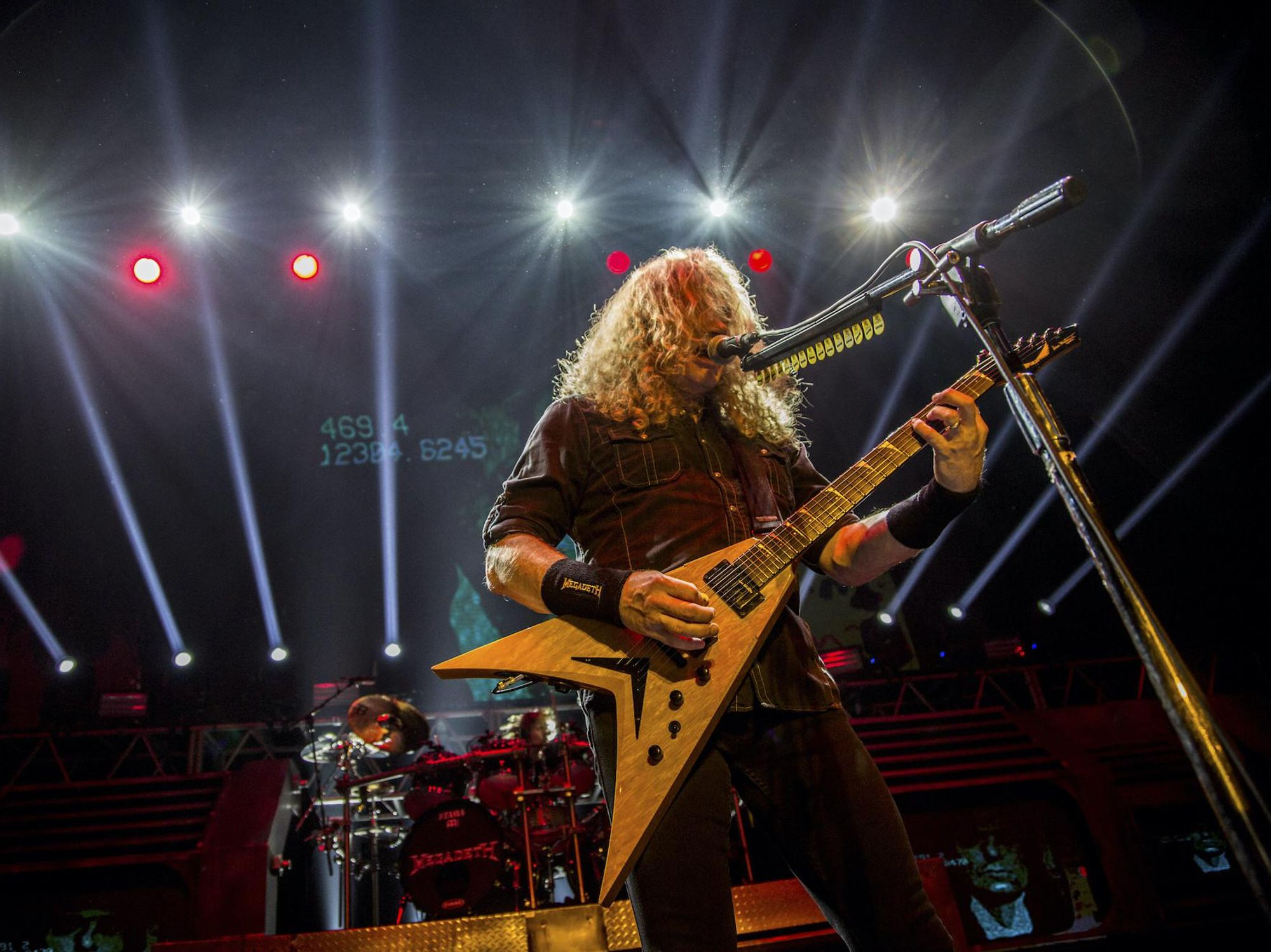 Megadeth frontman Dave Mustaine blasts mask mandates during concert: 'This is called tyranny!'