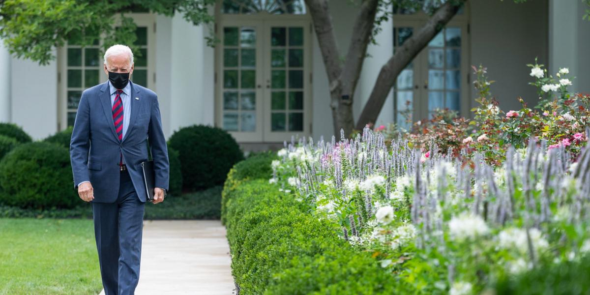 Is Joe Biden's Approval Rating In 'Free Fall'? Nope
