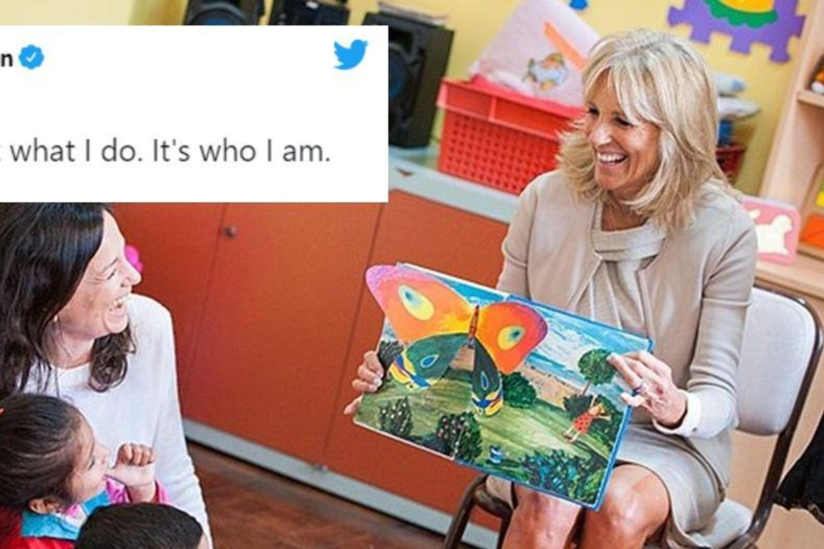 Jill Biden shows how much we need teachers by returning to the classroom this semester