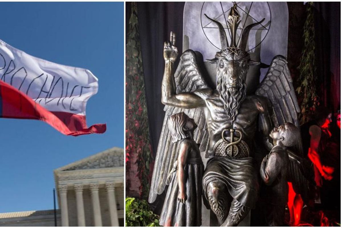 There's a new player in the fight to save abortion rights in Texas: The Satanic Temple
