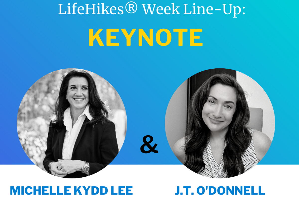 LifeHikes Week 2021 session with J.T. O'Donnell