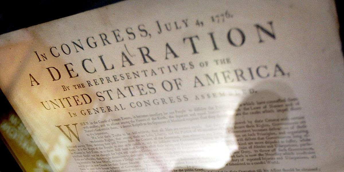 National Archives slaps 'harmful content' warning on Constitution, Declaration of Independence, other founding documents