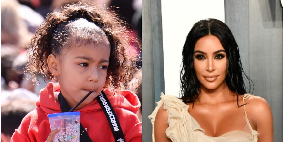 North West Roasts Kim Kardashian for Her Influencer Voice