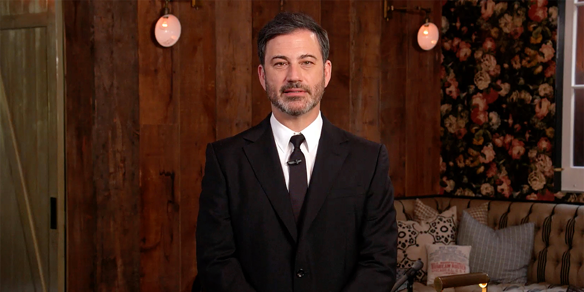 Jimmy Kimmel Says Unvaccinated People Shouldn't Get ICU Beds in Hospitals