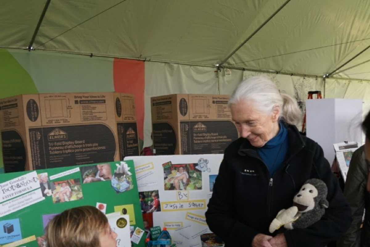 Jane Goodall inspired this frog-loving boy to become a global activist