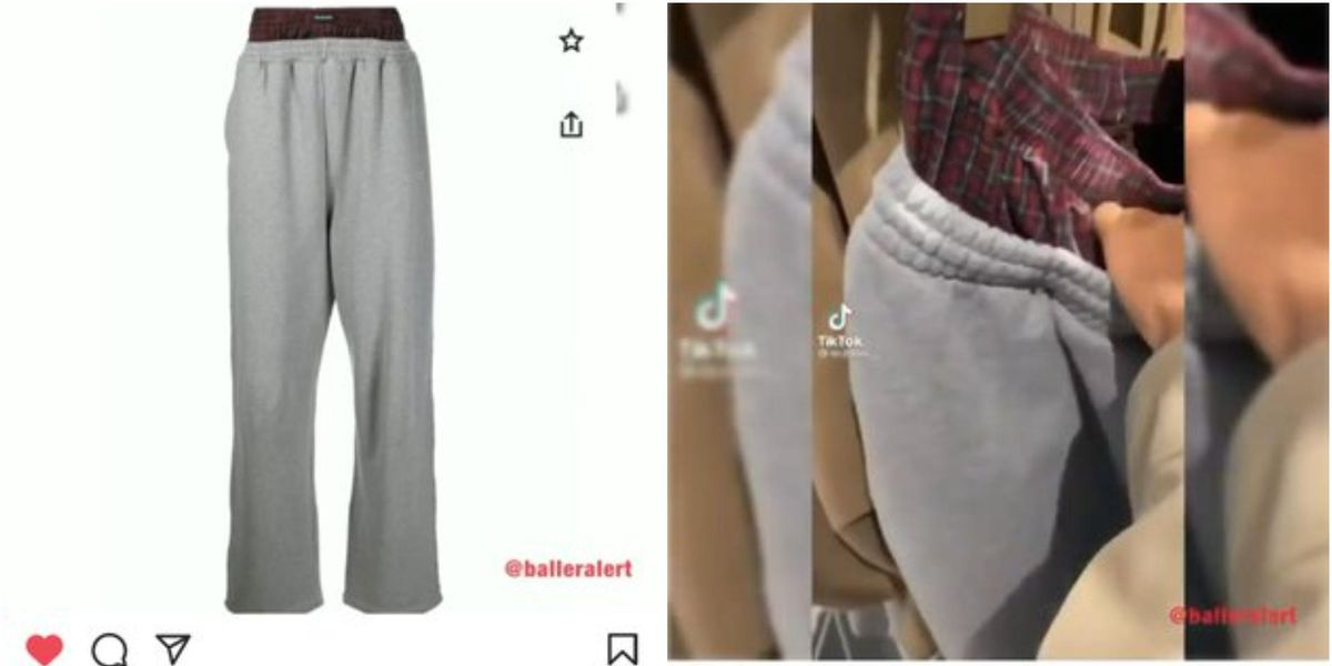The Internet Has a Lot to Say About Balenciaga's Sweatpants