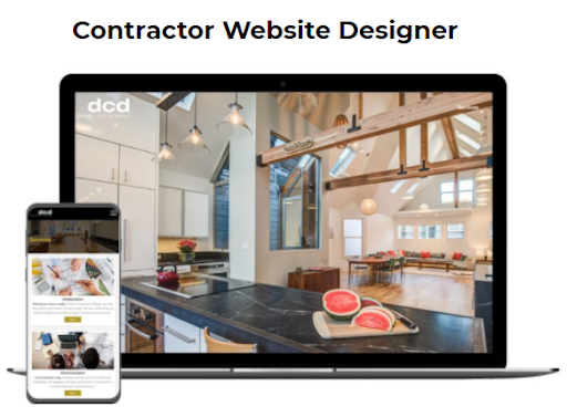 construction website designs