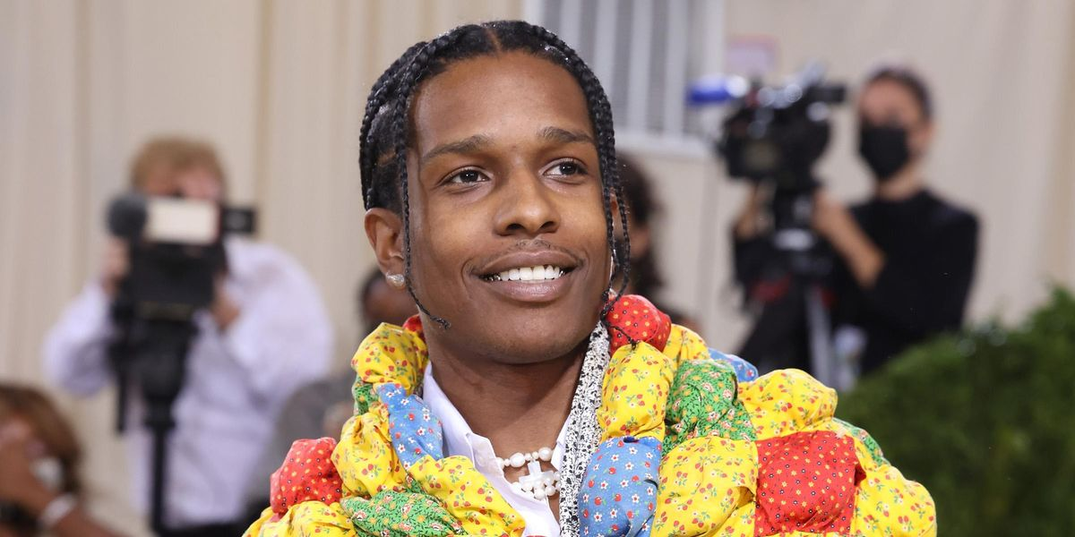 How A$AP Rocky's Quilt Look Went From Great Grandma's Bed to the Met Gala